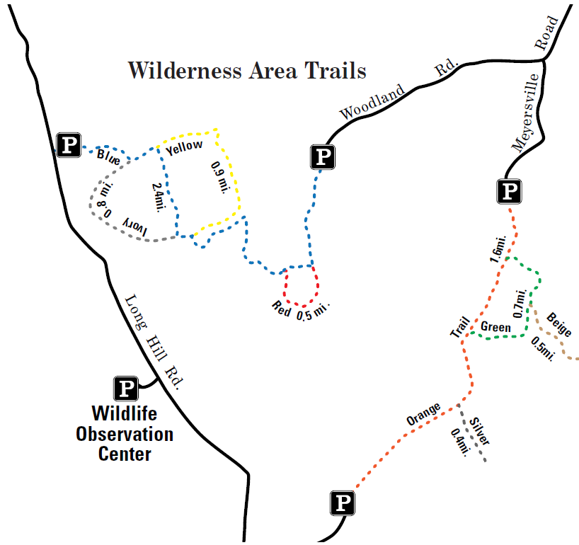 Wilderness Trail Map